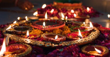 Puja candles